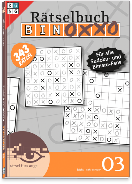 Binoxxo 03 Rätselbuch
